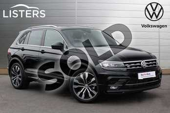 Volkswagen Tiguan 2.0 TDI 150 4Motion R Line 5dr in Deep Black at Listers Volkswagen Nuneaton