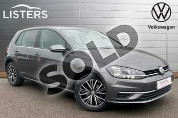 Volkswagen Golf 1.6 TDI SE 5dr in Indium Grey at Listers Volkswagen Stratford-upon-Avon