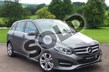 Mercedes-Benz B Class B200d Sport 5dr Auto in mountain grey metallic at Mercedes-Benz of Grimsby