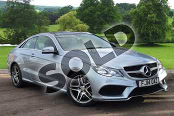Mercedes-Benz E Class E350 BlueTEC AMG Sport 2dr 7G-Tronic in Diamond Silver metallic at Mercedes-Benz of Grimsby