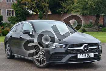 Mercedes-Benz CLA Class CLA 220 AMG Line Premium 5dr Tip Auto in Cosmos Black Metallic at Mercedes-Benz of Hull