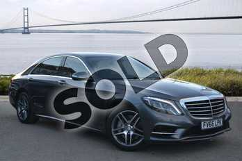 Mercedes-Benz S Class S350d L AMG Line 4dr 9G-Tronic (Executive) in Selenite Grey metallic at Mercedes-Benz of Hull