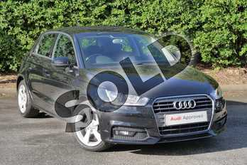 Audi A1 1.6 TDI Sport 5dr in Mythos Black, metallic at Worcester Audi