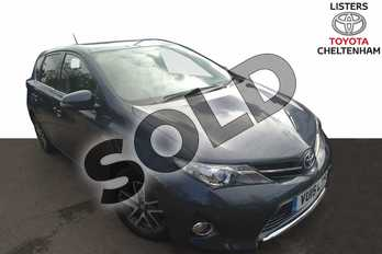 Toyota Auris 1.8 VVTi Hybrid Icon+ 5dr CVT Auto in Tungsten Blue at Listers Toyota Cheltenham