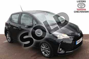 Toyota Yaris 1.5 Hybrid Icon 5dr CVT in Eclipse Black at Listers Toyota Cheltenham