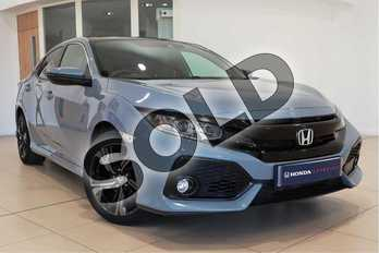 Honda Civic 1.0 VTEC Turbo EX 5dr in Sonic Grey at Listers Honda Coventry