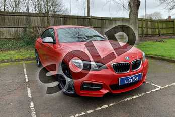 BMW 2 Series M240i 2dr (Nav) Step Auto in Sedona Red at Listers Honda Coventry