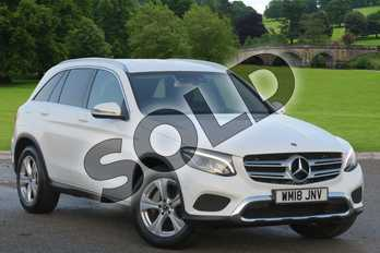 Mercedes-Benz GLC GLC 220d 4Matic Sport 5dr 9G-Tronic in polar white at Mercedes-Benz of Boston
