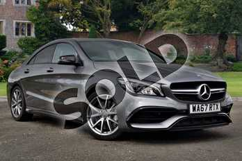 Mercedes-Benz CLA Class CLA 45 4Matic 4dr Tip Auto in mountain grey metallic at Mercedes-Benz of Lincoln