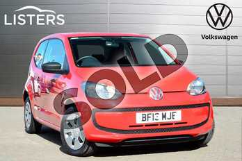 Volkswagen Up 1.0 Take Up 3dr in Tornado Red at Listers Volkswagen Coventry