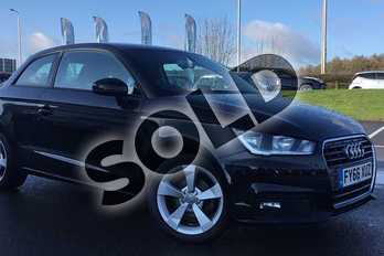 Audi A1 1.0 TFSI Sport 3dr in Black at Lexus Lincoln