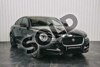 Jaguar XE 2.0 (300) R-Sport 4dr Auto AWD in Narvik Black at Listers Jaguar Solihull