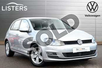 Volkswagen Golf 1.6 TDI 110 Match Edition 5dr in Reflex silver at Listers Volkswagen Leamington Spa