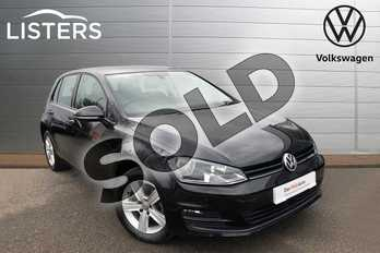 Volkswagen Golf 1.6 TDI 110 Match Edition 5dr in Deep Black at Listers Volkswagen Worcester