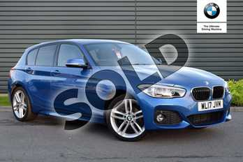 BMW 1 Series 118d M Sport 5-Door in Estoril Blue at Listers Boston (BMW)