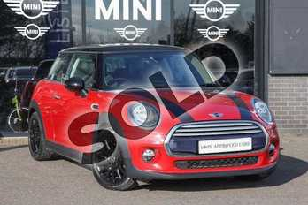 MINI Hatchback 1.5 Cooper 3dr in Blazing Red at Listers Boston (MINI)