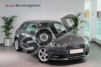 Audi A1 1.4 TFSI Sport 3dr in Nano Grey, metallic at Birmingham Audi