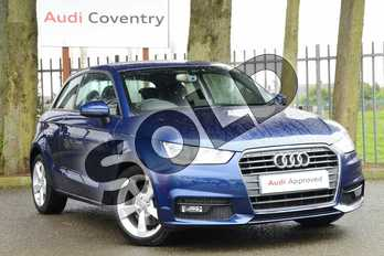 Audi A1 1.4 TFSI Sport 3dr in Scuba Blue Metallic at Coventry Audi