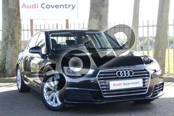 Audi A4 2.0 TDI Ultra SE 4dr S Tronic in Brilliant Black at Coventry Audi