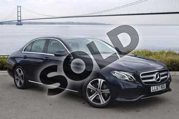 Mercedes-Benz E Class E220d SE 4dr 9G-Tronic in Cavansite Blue Metallic at Mercedes-Benz of Hull