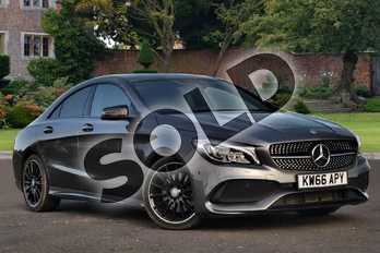Mercedes-Benz CLA Class CLA 220d AMG Line 4dr Tip Auto in mountain grey metallic at Mercedes-Benz of Lincoln