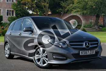 Mercedes-Benz B Class B200d Sport 5dr Auto in mountain grey metallic at Mercedes-Benz of Lincoln