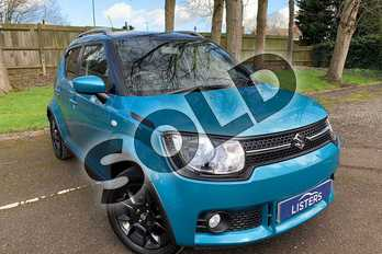Suzuki Ignis 1.2 Dualjet SZ-T 5dr Auto in Neon Blue at Listers Honda Coventry