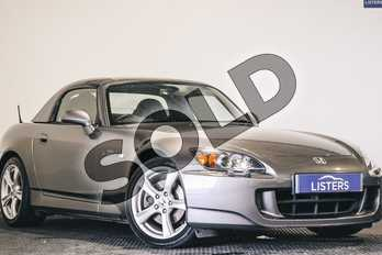 Honda S2000 2.0i 2dr  in Metallic - Moon rock at Listers U Stratford-upon-Avon