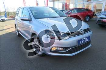 Volkswagen Polo 1.0 75 SE 5dr in Metallic - Reflex silver at Listers Toyota Grantham