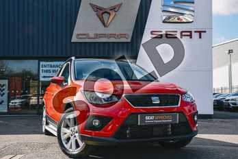 SEAT Arona 1.0 TSI SE Technology (EZ) 5dr in Red at Listers SEAT Coventry