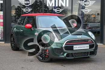 MINI Hatchback 2.0 John Cooper Works 3dr in British Racing Green at Listers Boston (MINI)
