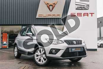 SEAT Arona 1.0 TSI SE Technology (EZ) 5dr in Silver at Listers SEAT Coventry