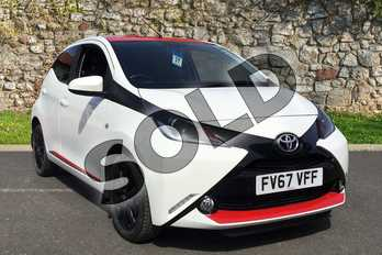 Toyota AYGO 1.0 VVT-i X-Press 5dr in White Flash at Listers Toyota Boston