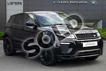 Range Rover Evoque 2.0 SD4 HSE Dynamic 5dr Auto in Santorini Black at Listers Land Rover Droitwich