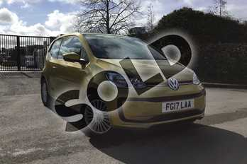 Volkswagen Up 1.0 Move Up 3dr in Honey Yellow at Listers Volkswagen Loughborough
