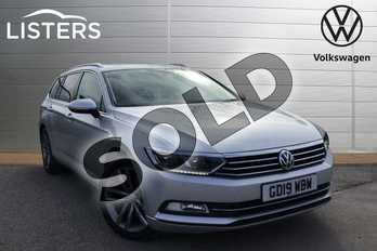 Volkswagen Passat 2.0 TDI GT 5dr (Panoramic Roof) in Reflex silver at Listers Volkswagen Loughborough