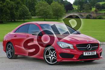 Mercedes-Benz CLA Class CLA 180 AMG Sport 4dr Tip Auto in Jupiter Red at Mercedes-Benz of Boston