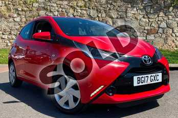 Toyota AYGO 1.0 VVT-i X-Play 5dr in Red at Listers Toyota Coventry