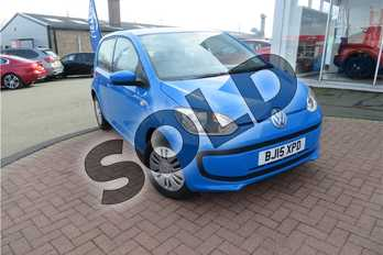 Volkswagen Up 1.0 Move Up 5dr in Solid - Mayan blue at Listers Toyota Grantham
