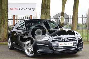Audi A5 2.0 TDI Quattro S Line 5dr S Tronic in Brilliant Black at Coventry Audi