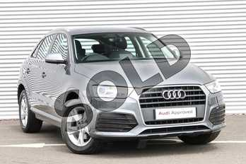 Audi Q3 1.4T FSI Sport 5dr S Tronic in Monsoon Grey Metallic at Stratford Audi