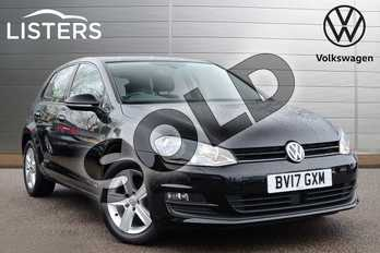 Volkswagen Golf 1.6 TDI 110 Match Edition 5dr in Flat Black at Listers Volkswagen Coventry