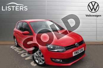Volkswagen Polo 1.4 Match 5dr in Flash Red at Listers Volkswagen Worcester