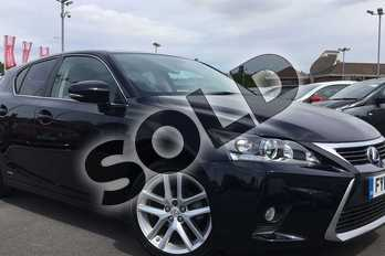 Lexus CT 200h 1.8 Advance 5dr CVT Auto in Obsidian Black at Lexus Lincoln