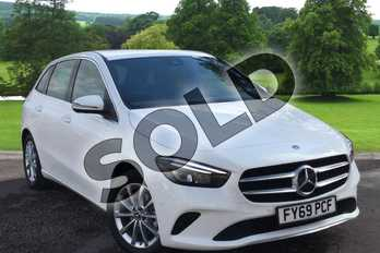 Mercedes-Benz B Class B200d Sport Executive 5dr Auto in Polar White at Mercedes-Benz of Grimsby