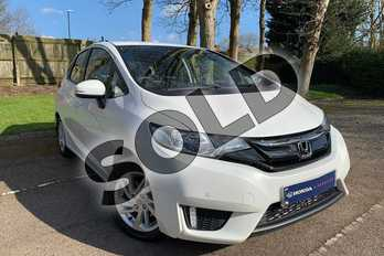 Honda Jazz 1.3 SE 5dr CVT in White Orchid at Listers Honda Coventry