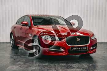 Jaguar XE 2.0d (180) R-Sport 4dr Auto in Firenze Red at Listers Jaguar Solihull