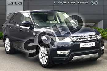 Range Rover Sport 3.0 SDV6 HSE 5dr Auto in Loire Blue at Listers Land Rover Droitwich