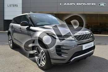 Range Rover Evoque 2.0 D180 R-Dynamic HSE 5dr Auto in Corris Grey at Listers Land Rover Hereford