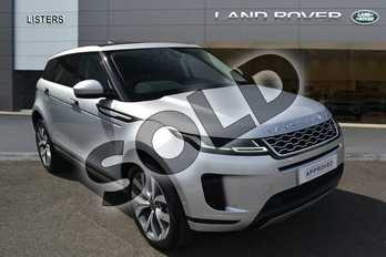 Range Rover Evoque 2.0 P250 HSE 5dr Auto in Indus Silver at Listers Land Rover Hereford